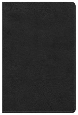 NKJV Ultrathin Reference Bible, Black LeatherTouch
