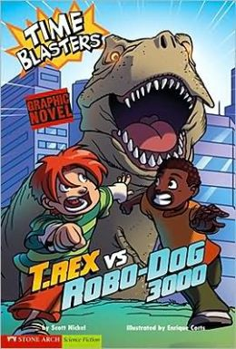 T. Rex vs Robo-Dog 3000