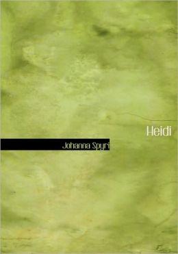 Heidi (Large Print Edition)