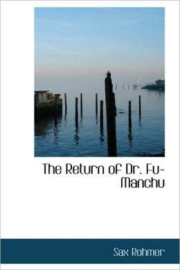 The Return Of Dr. Fu-Manchu