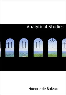 Analytical Studies (Large Print Edition)
