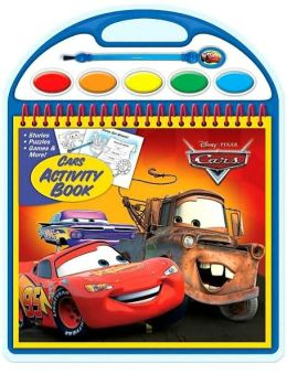 Disney/Pixar Cars Activity Book (Paint and Play Series)