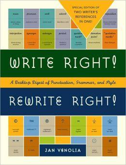 Write Right! & Rewrite Right!