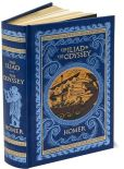 Book Cover Image. Title: The Iliad and The Odyssey (Barnes & Noble Leatherbound Classics), Author: Homer