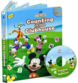 Mickey Mouse Clubhouse: Counting in the Clubhouse (Book and CD)