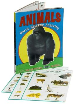 Giant Sticker Activity Animals
