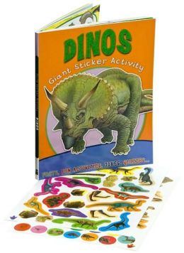Giant Sticker Activity Dinosaurs