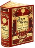 Book Cover Image. Title: Jules Verne:  Seven Novels (Barnes & Noble Collectible Editions), Author: Jules Verne
