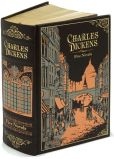 Book Cover Image. Title: Charles Dickens:  Five Novels (Barnes & Noble Leatherbound Classics), Author: Charles Dickens