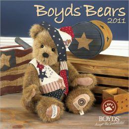 2011 Boyd's Bears Wall Calendar