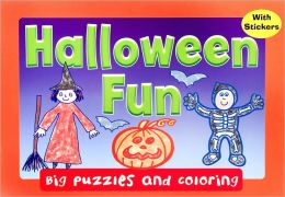 Halloween Fun (Big Puzzles and Coloring)