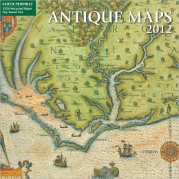 2012 Antique Maps Mini Wall Calendar