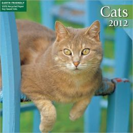 2012 Cats Mini Wall Calendar