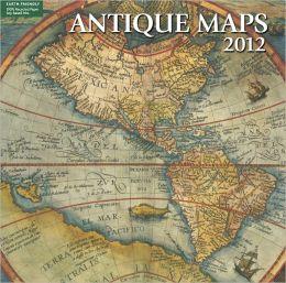 2012 Antique Maps Wall Calendar