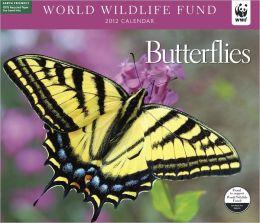 2012 Butterflies WWF Wall Calendar