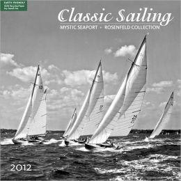 2012 Classic Sailing Wall Calendar