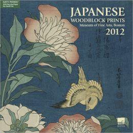 2012 Japanese Woodblock Print MFA Wall Calendar