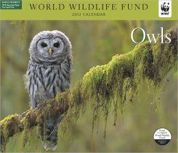 2012 Owls WWF Wall Calendar
