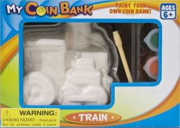 Train (Paint Your Own Coin Bank)