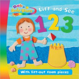 Lift and See 123 (Baby Gold Stars)