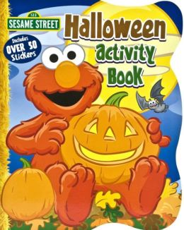 Sesame Street Halloween Coloring Book