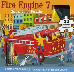 Super Color Puzzle: Fire Engine 7