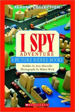 I Spy Adventure: 4 Picture Riddle Books