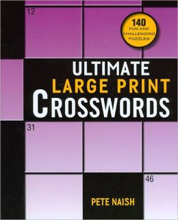 Ultimate Large Print Crosswords