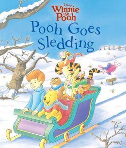 Pooh Goes Sledding