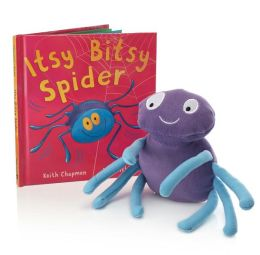 Itsy Bitsy Spider (Book and Plush)