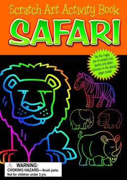 Safari Scratch Art