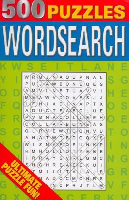 500 Wordsearch Puzzles