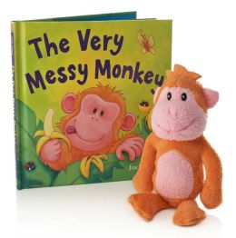 Very Messy Monkey (Book and Plush)