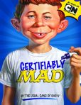 Book Cover Image. Title: Certifiably MAD:  A MAD Magazine Miscellany, Author: The Usual Gang of Idiots