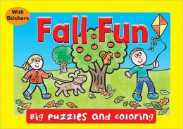 Fall Fun (Big Puzzles and Coloring)
