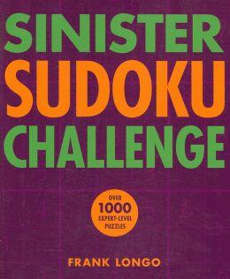 Sinister Sudoku Challenge