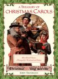 Book Cover Image. Title: A Treasury of Christmas Carols:  Best-Loved Classics Arranged for Keyboard and Guitar, Author: Jerry Silverman