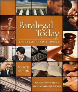 Paralegal Today: Legal Team at Work & Bankruptcy Supplement Package