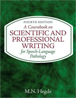 A Coursebook on Scientific and Professional Writing