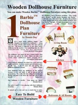 Barbie Dollhouse Plan Furniture
