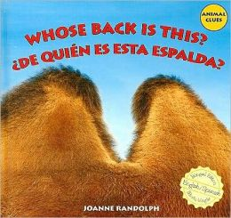 Whose Back Is This?: De Quién Es Esta Espalda?