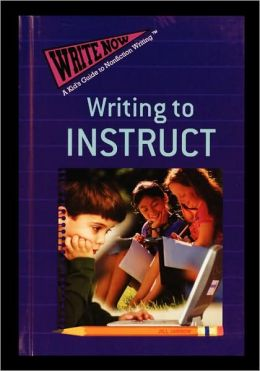 Writing to Instruct