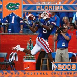 2009 College Florida Gators Wall Calendar