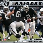 2009 NFL Oakland Raiders Wall Calendar