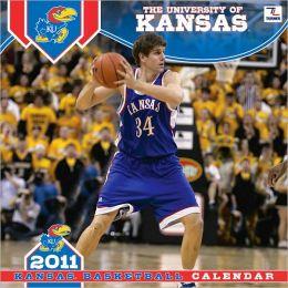 2011 Kansas Jayhawks 12X12 Wall Calendar