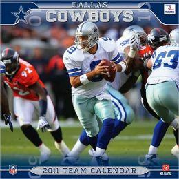 2011 Dallas Cowboys 12X12 Wall Calendar