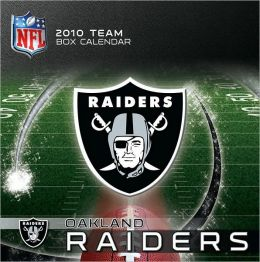 2011 Oakland Raiders Box Calendar