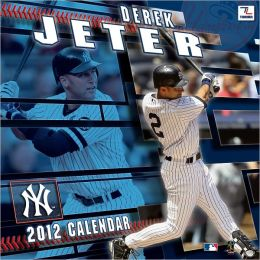 2012 NEW YORK YANKEES DEREK JETER 12X12 WALL CALENDAR