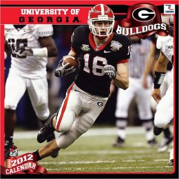 2012 GEORGIA BULLDOGS 12X12 WALL CALENDAR