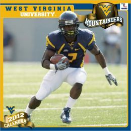 2012 WEST VIRGINIA MOUNTAINEERS 12X12 WALL CALENDAR
